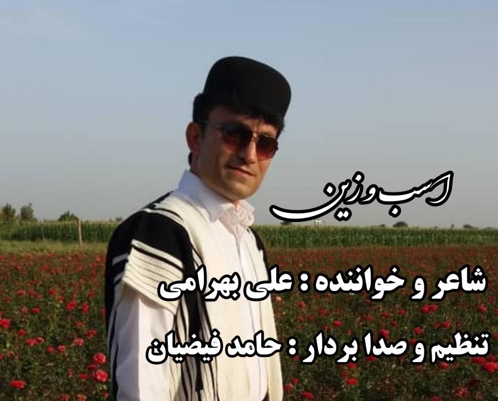 علی بهرامی  اسبو زین